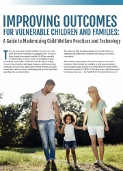 Governing Institute Brief: Improving Outcomes for Vulnerable Children and Families