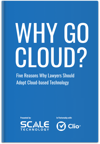 Why Go Cloud? An eBook by Scale Technologies.