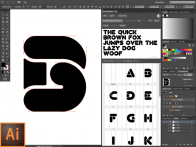 Make font in Illustrator CC