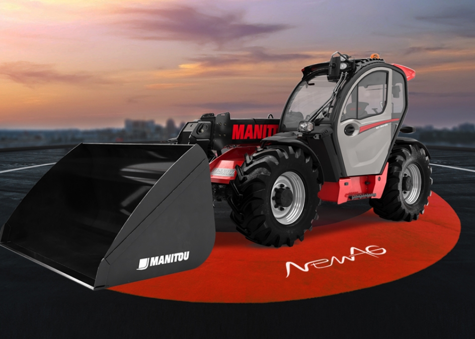 Beliebt Bevorzugt Teleskoplader Manitou für den Einsatz in der Landwirtschaft - NewAG &TT_14