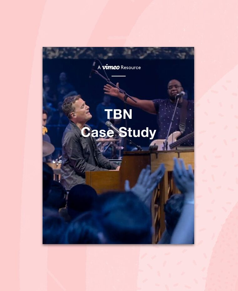 TBN Case Study for Vimeo OTT