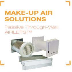Make Up Air Is An Essential Element In A Complete Central Exhaust Indoor Quality Ventilation System Particularly Structures That Are Well Insulated