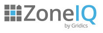 ZoneIQ by Gridics logo