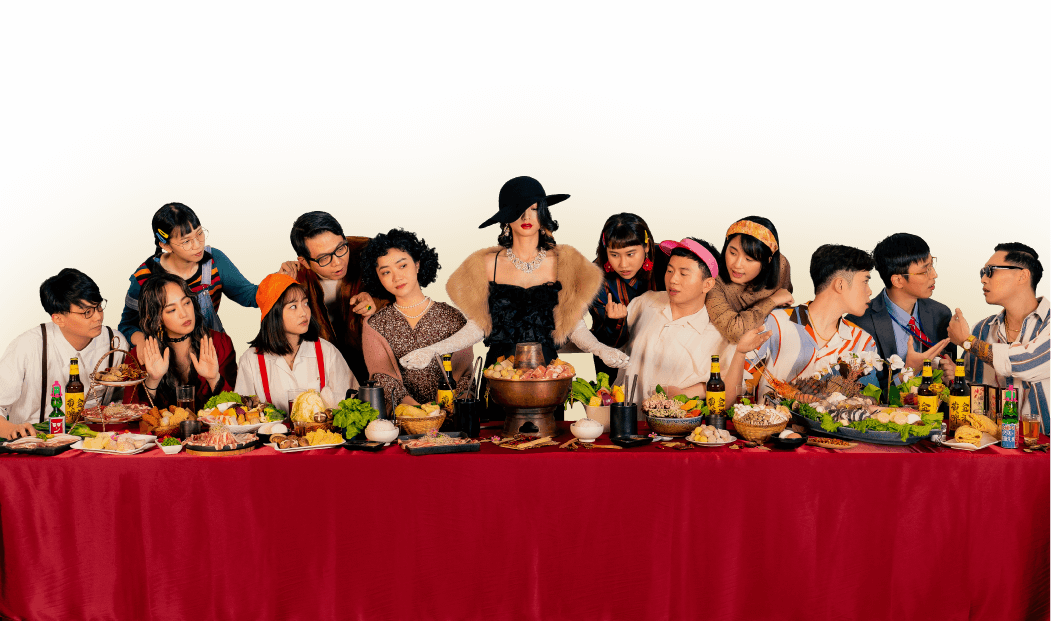火鍋節 多人聚餐 氣氛熱鬧 美食