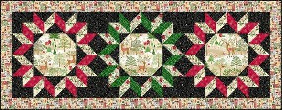 Modele deco noel patchwork