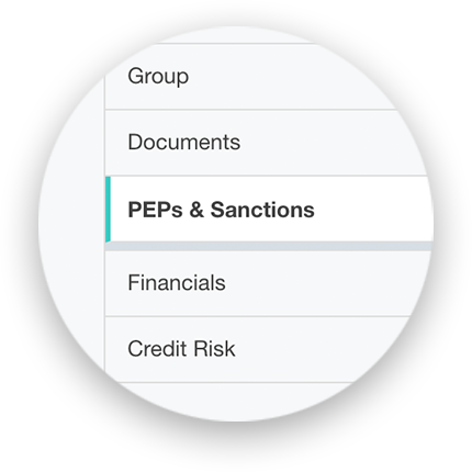 PEPs and Sanctions