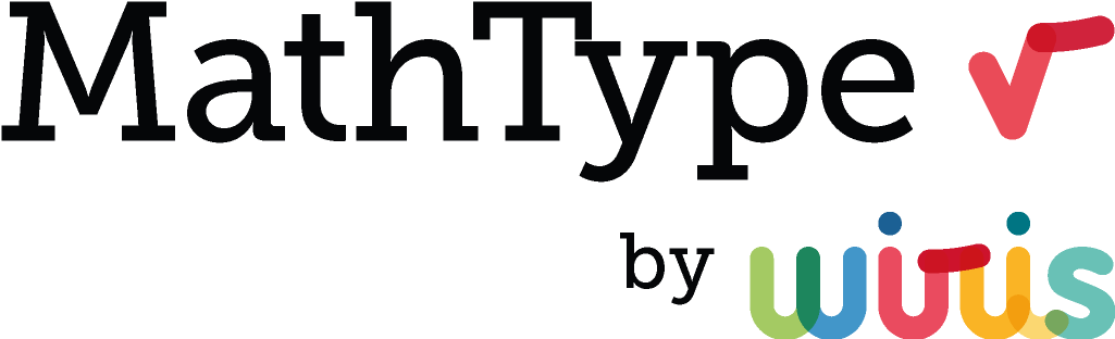 MathType Equation Editor by WIRIS