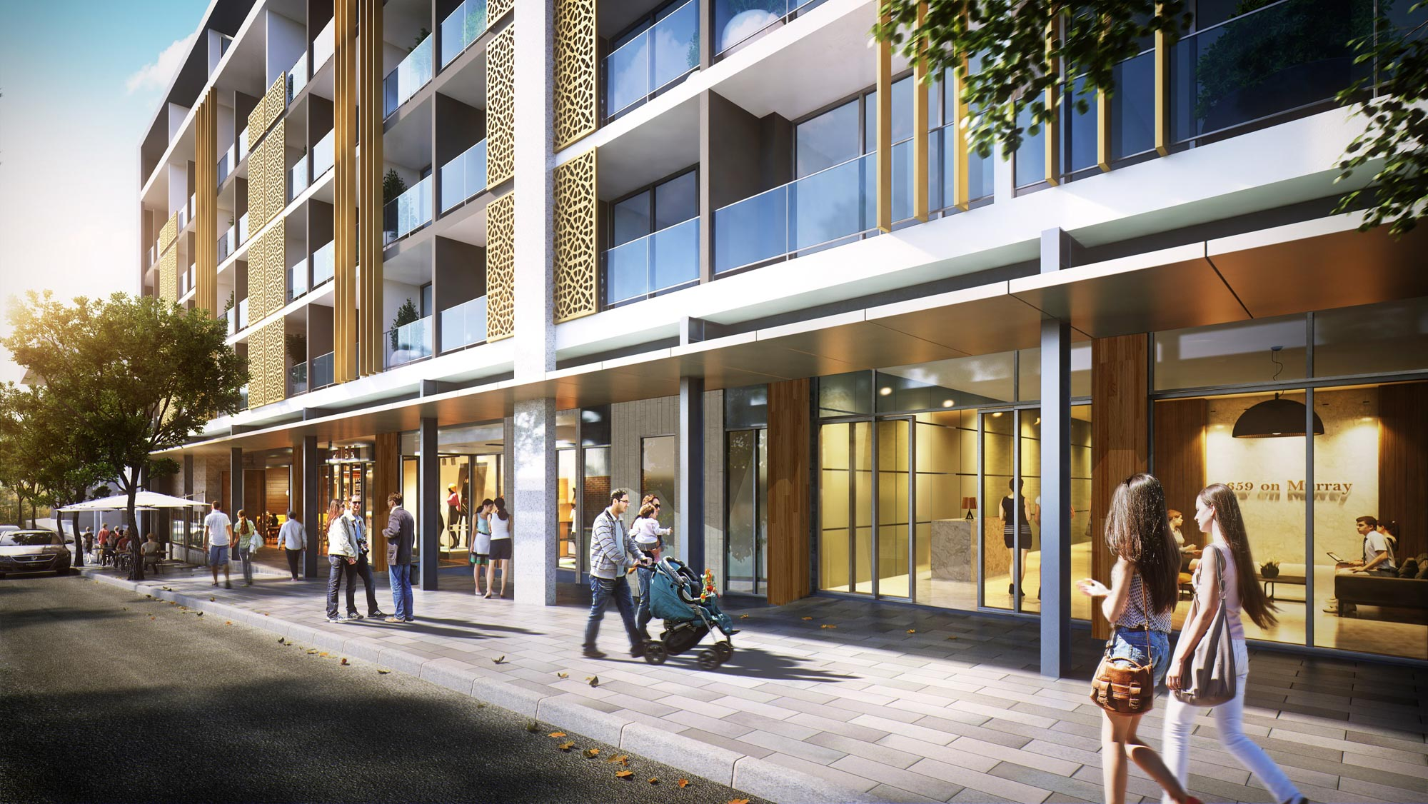 Aire West Perth Apartments - DevelopWise