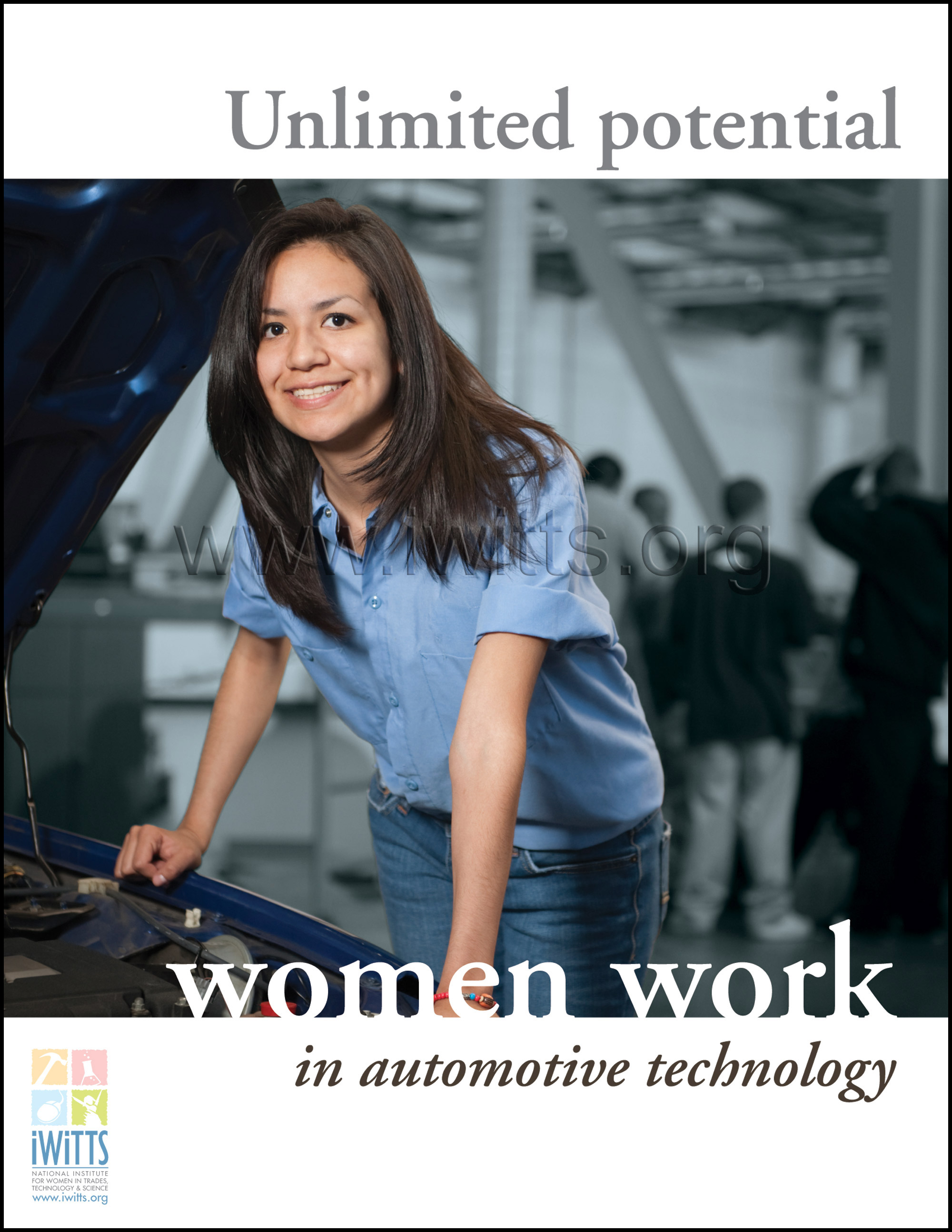 Women Work in Automotive Technology