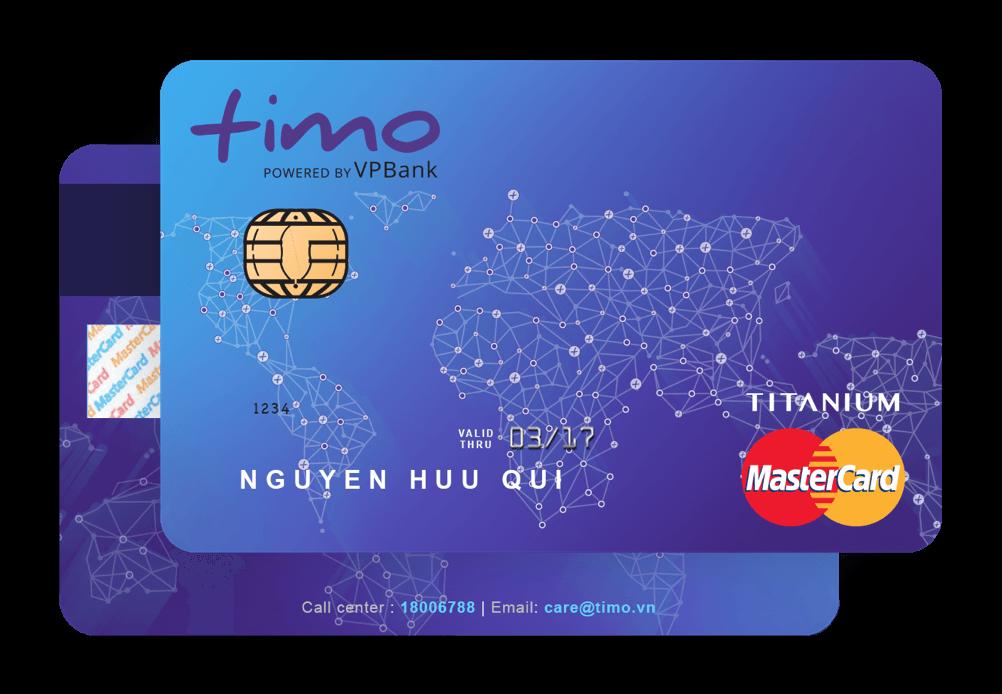 Tặng 50.000đ vào tài khoản khi đăng ký làm thẻ Timo thành công
