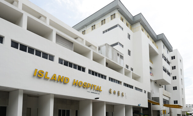 Hasil gambar untuk island hospital penang