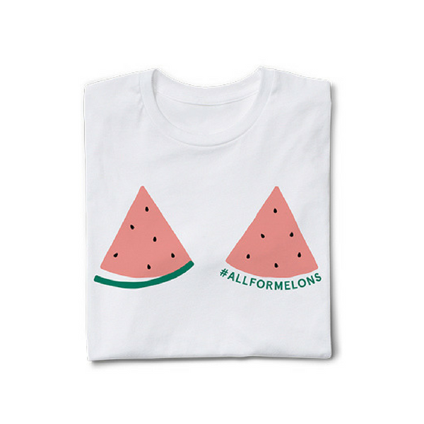 All for melon t-shirt