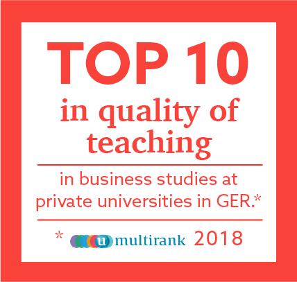Top 10 in quality of teaching in business studies