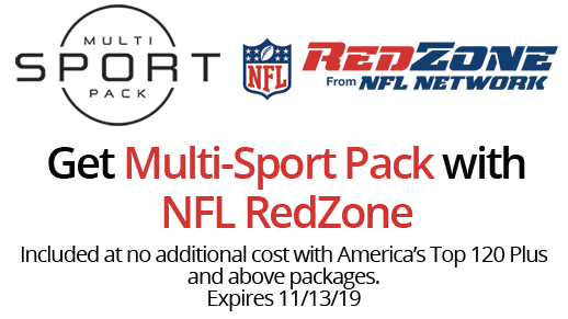 Multi-Sport Pack with NFL RedZone