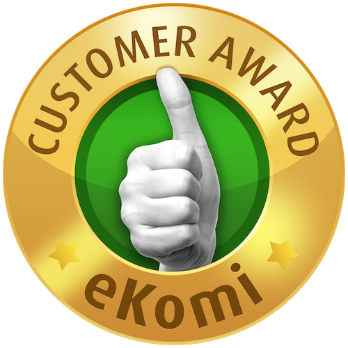ekomi gold seal award