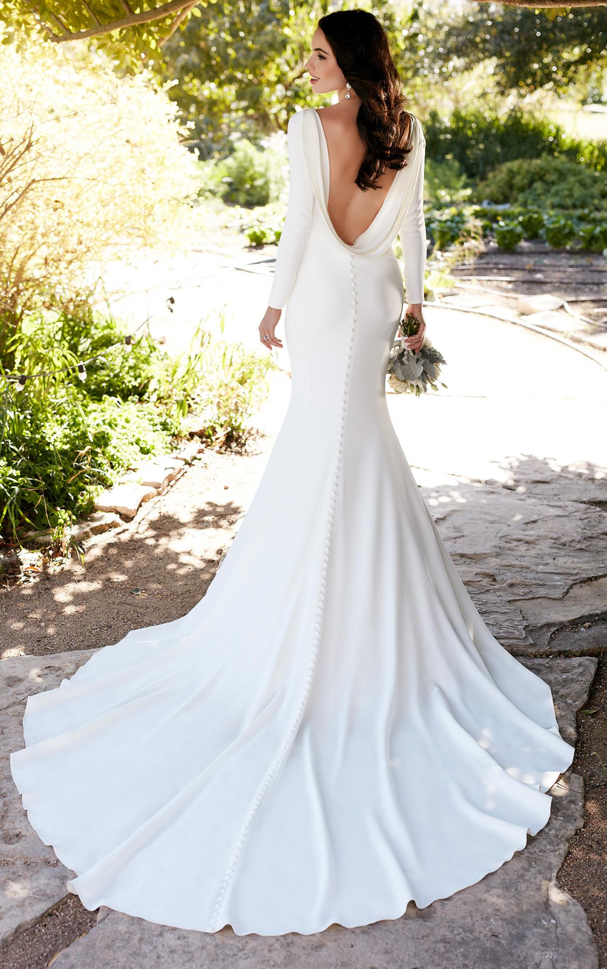 backless wedding dresses essense of australia