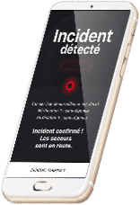 Alert accident phone 2