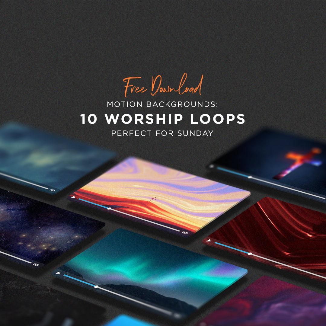 Free Backrounds 10 free church worship motion backgrounds