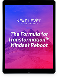 The Formula for Transformation Mindset Reboot