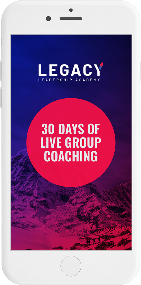 Legacy Leadership Academy group coaching