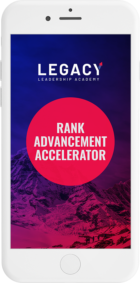 Legacy Leadership Academy Rank Advancement Accelerator
