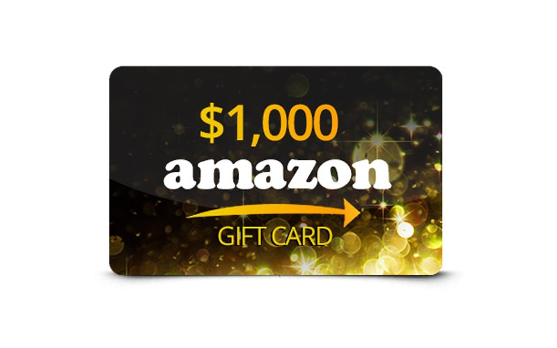 Click Here To Get Amazon 1000 Gift Card