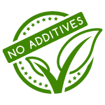 No additives icon