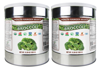 Freeze-Dried Organic Broccoli