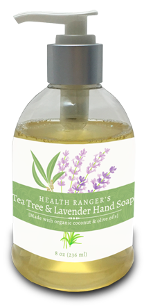 hrs tea tree and lavender hand soap