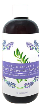 hrs tea tree and lavender body soap