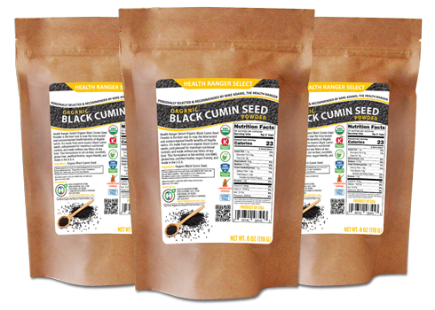 health ranger select black cumin seed powder x3
