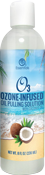 O3 Ozone-Infused Oil Pulling Solution 8oz (with Organic Coconut Oil and Organic Peppermint)