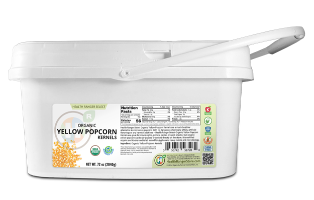 Popcorn Kernels 72oz mini-Bucket