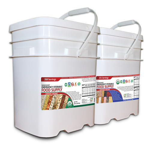 Health Ranger Bucket Storable Food