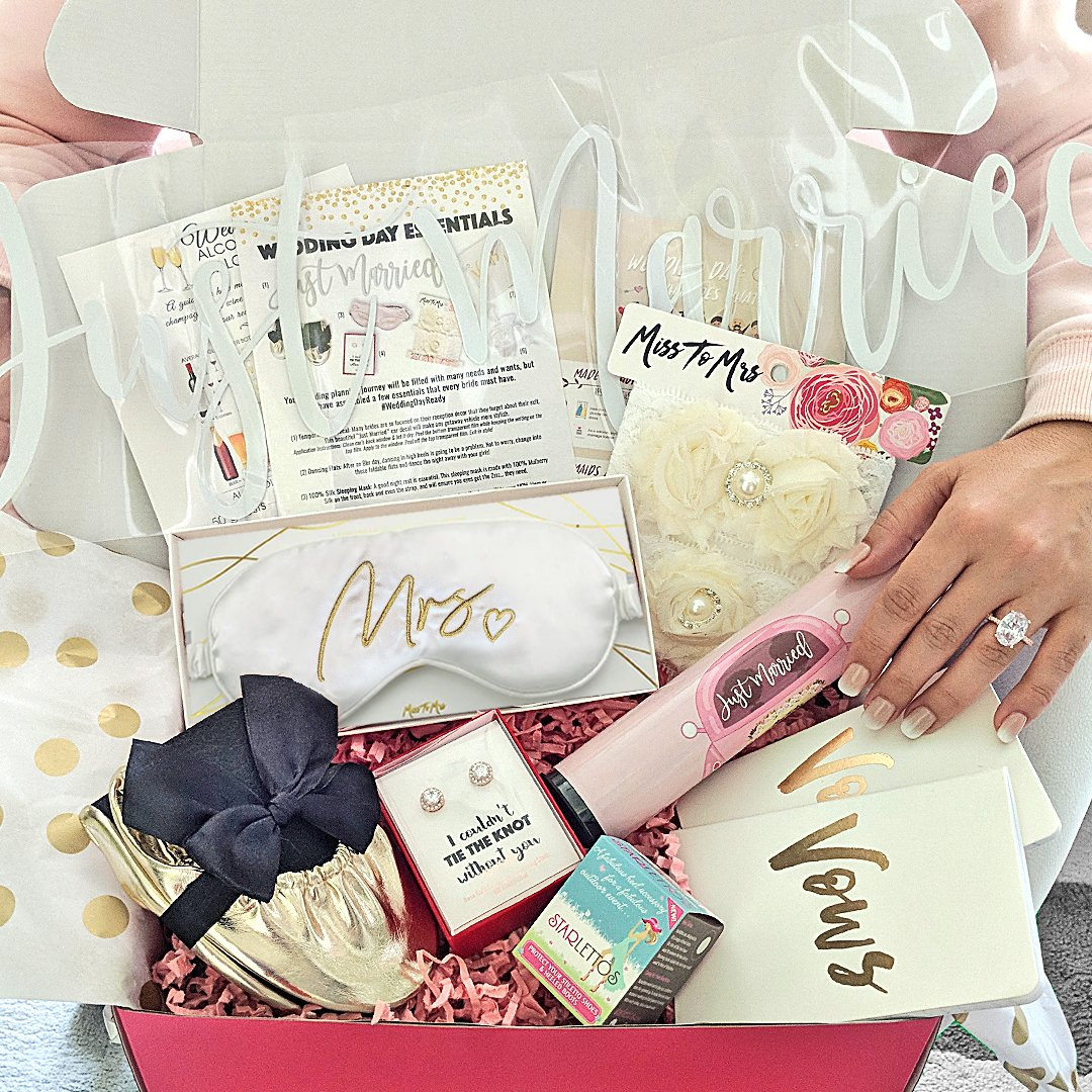 Miss To Mrs Box 3 Theme - Wedding Day Essentials
