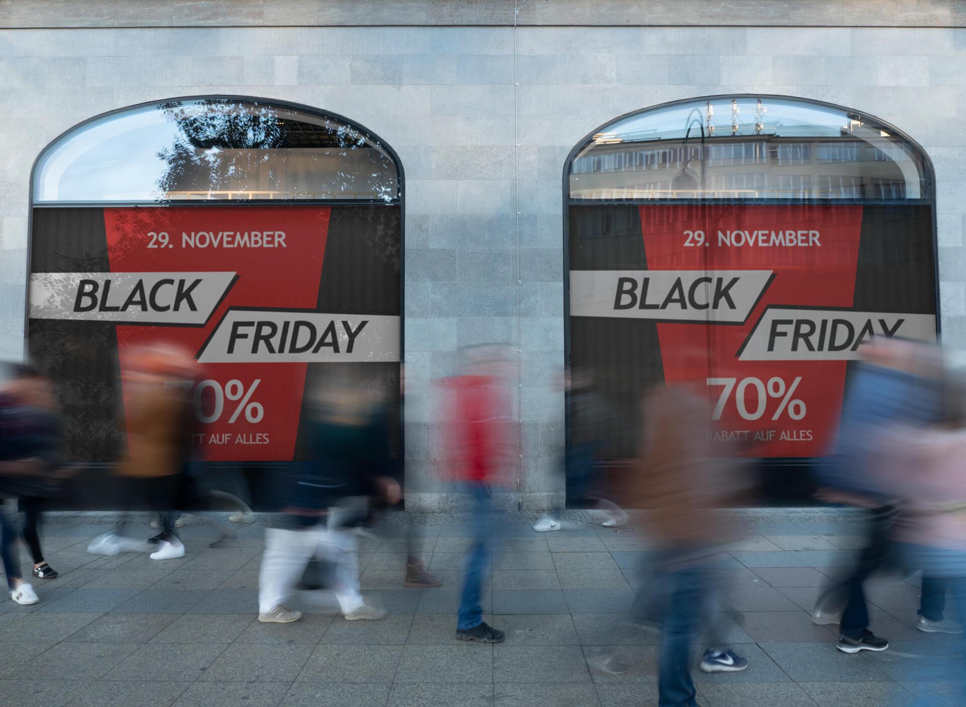 Interessante Umfrage zum Black Friday