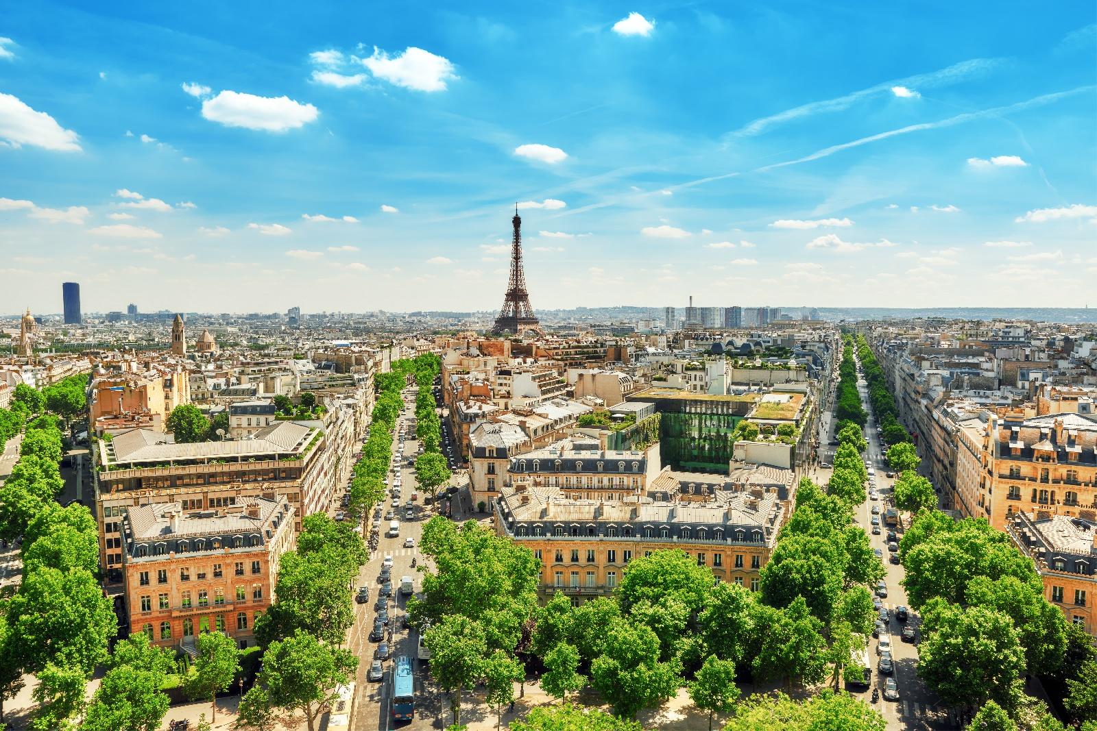 eiffel, Tower, Paris, Cityscapes, Squares, Cities