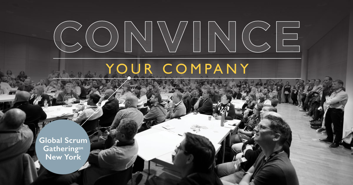 Convince your company playbill