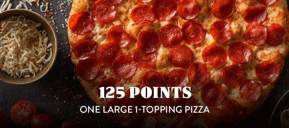 125 pts - Large Pizza