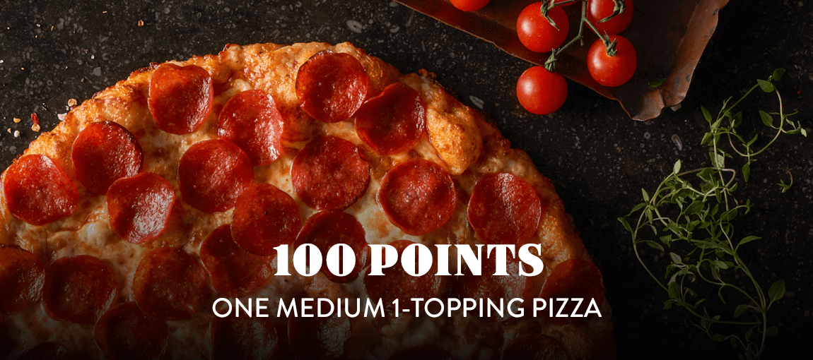 100 - Medium Pizza