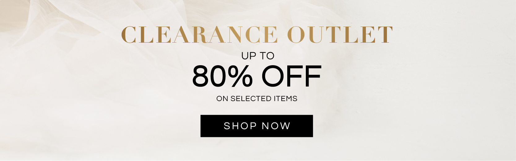 Up to 80% OFF Clearance Outlet