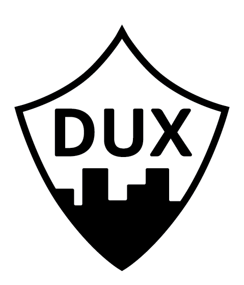 Downtown UX Orlando Shield Logo reads