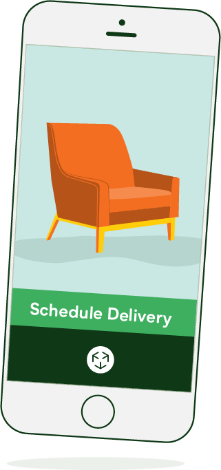 Schedule deliveries in our app on demand