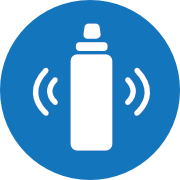 shake cleaning method icon nomader water bottle