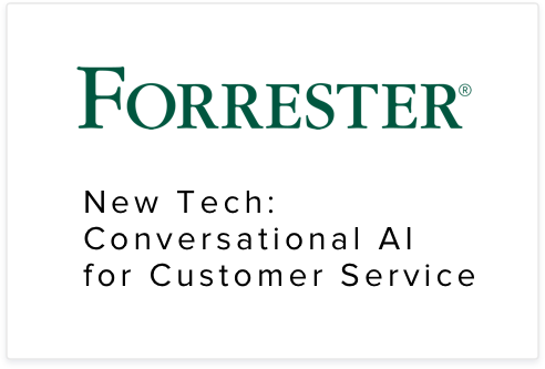Netomi is recognized as a Conversational AI leader in customer service by Forrester analysts