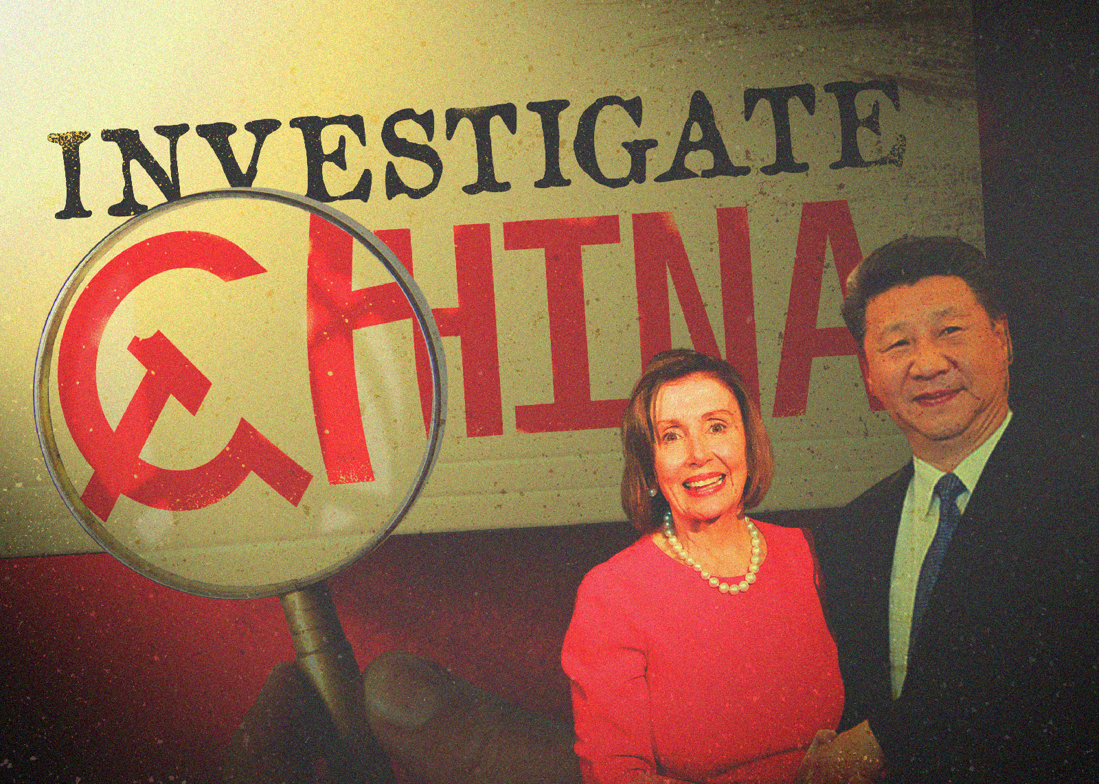 Hold China accountable graphic