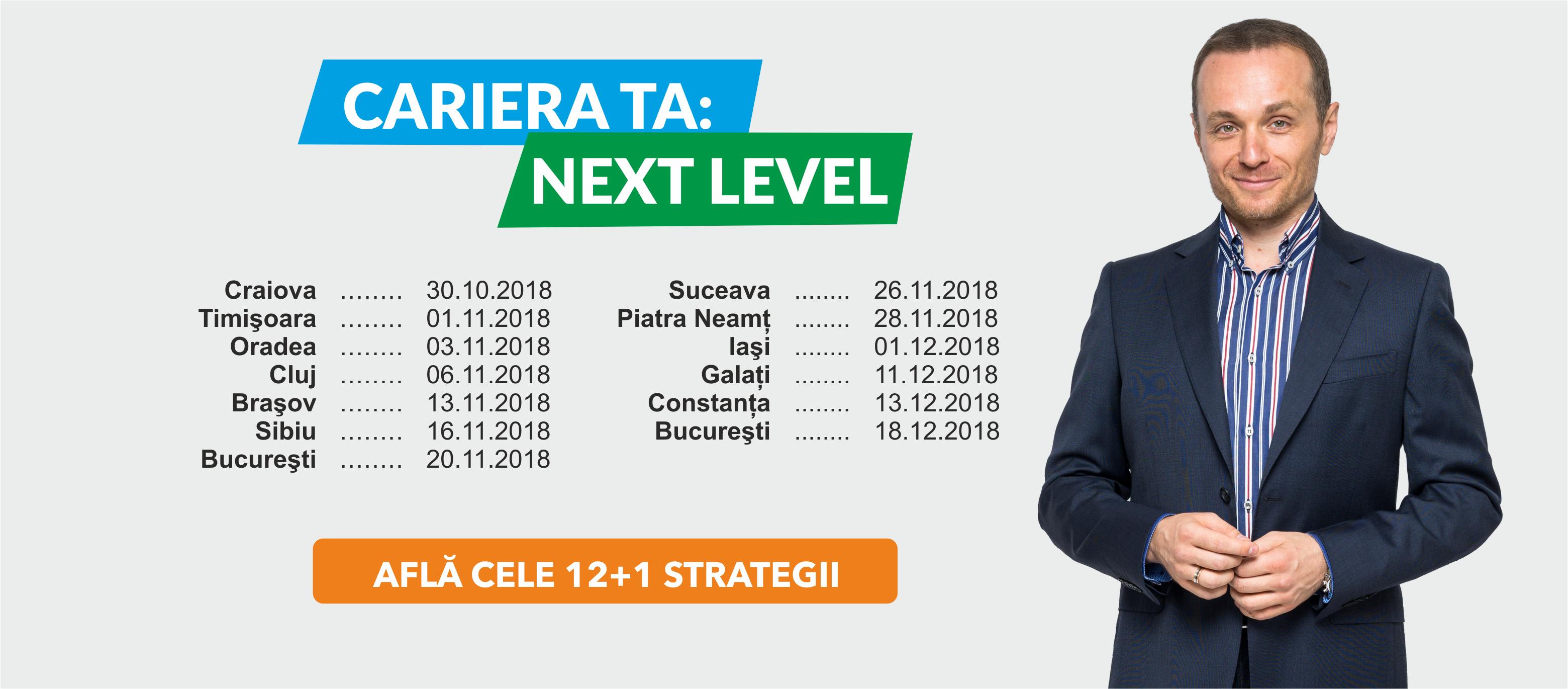 Cariera TA: Next Level