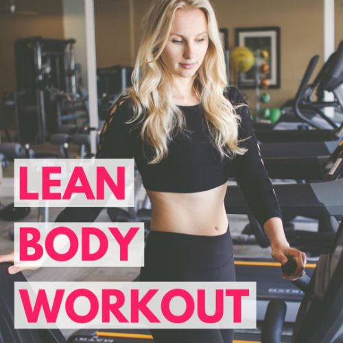 lean body hiit workout for women