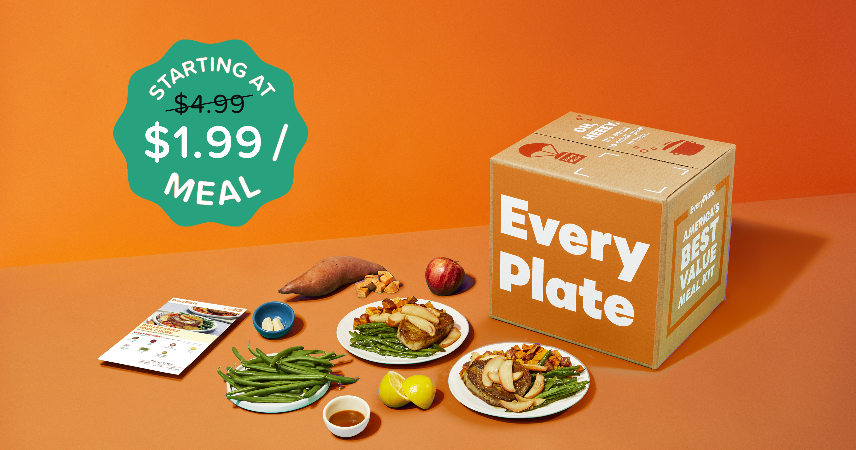 EveryPlate Meal Subscription Box