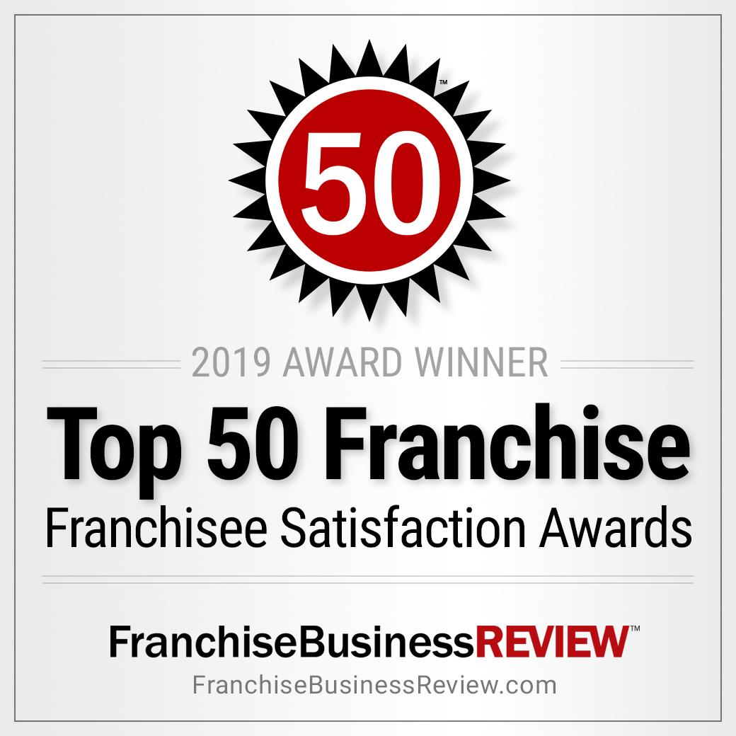 50 2018 Franchisee Satisfaction Awards